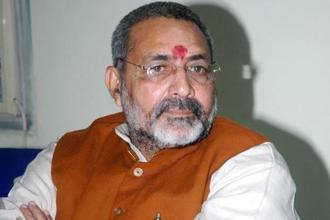 Giriraj Singh said he widely used social media to blunt the opposition's criticism of PM Narendra Modi during the Assembly elections in Uttar Pradesh. Photo: HT