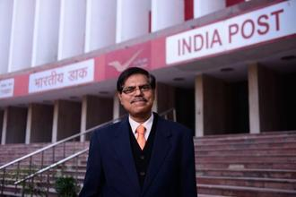 Anant Narayan Nanda, chairman of India Posts Payments Bank. IPPB will have a workforce of about 3,500. Photo: Pradeep Gaur/Mint