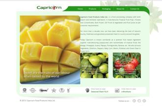 Capricorn Food is a food processing company, manufacturing tropical fruit pulp/purees and concentrates, frozen fruits and vegetables, and fruit juices.