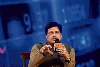 Railway minister Piyush Goyal announced that he is planning to revamp signalling system across 118,000 km of railway network in next six years. Photo: Ramesh Pathania/Mint