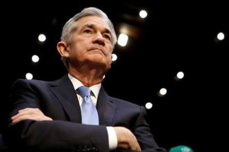 The 4.1% rout in the S&P 500 index on Monday, the steepest decline since 2011, poses more questions than answers so far for Jerome Powell and his team. Photo: Reuters