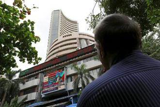 Following the market crash, the total market capitalisation of BSE listed companies stood at Rs1.43 trillion, down from Rs1.47 trillion on Monday. Photo: Reuters