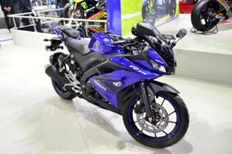Yamaha R15. Photo: Ramesh Pathania/Mint