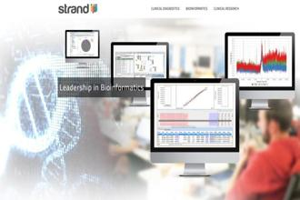 Founded in 2000, Strand was one of the early entrants in the bioinformatics space, with proprietary data analytical engines for research and clinical applications.