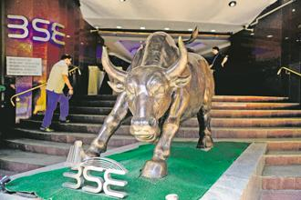 Twenty-three of the 30 Sensex stocks closed higher on Thursday. Photo: Abhijit Bhatlekar/Mint