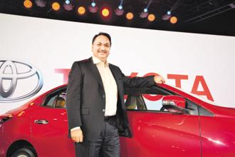 Vikram Kirloskar, vice-chairman, Toyota Kirloskar Motor Pvt. Ltd. Photo: Ramesh Pathania/Mint