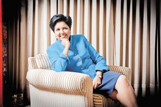 """I am thrilled to join the ICC as the first person to be appointed to this role,"" said Indra Nooyi. Photo: Priyanka Parashar/Mint"