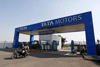 Global wholesale of all Tata Motors' commercial vehicles and Tata Daewoo range in January 2018 stood at 44,828 units, up 32% from the same month last year. Photo: Reuters