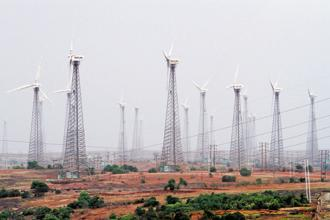According to the statement, Suzlon's total income from operations in the quarter was Rs2,237.37 crore compared to Rs3,341.48 crore a year ago. Photo: Bloomberg