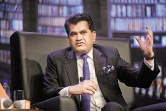 Niti Aayog CEO Amitabh Kant said the government was next looking to come out with performance-based rankings of district hospitals by June 2018. Photo: Abhijit Bhatlekar/Mint