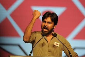 Actor-turned-politician Pawan Kalyan's Jana Sena Party (JSP), which is a TDP ally, has been talking with others to form a joint action committee over the same issue. Photo: AFP