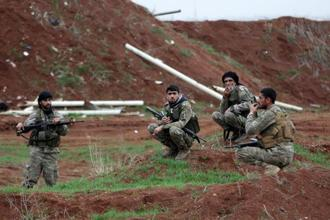 Turkey has warned the US to remove its troops from the YPG-held Manbij town as it threatens to extend the operation towards the town east of Afrin. Photo: Reuters