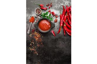 Avoid spicy food as it can irritate the ulcer. Photo: iStockphoto