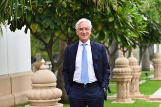 Ronald Cohen, global chairman of Global Steering Group. Photo: Priyanka Parashar/Mint