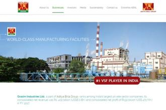 Grasim  Industries had posted a net profit of Rs952.33 crore during the October-December period of the previous fiscal