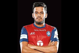 Souvik Chakrabarti has started every game for Jamshedpur FC this season.