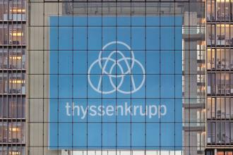 Thyssenkrupp shares have shed almost 10% since the Tata Steel joint venture was announced, compared with a 1% drop in the STOXX Europe 600 Industrial Goods and Services index. Photo: Reuters