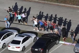 17 killed in a high-school shooting incident in Parkland, Florida, when a 19-year-old student Nikolaus Cruz, opened fire. Photo: AFP