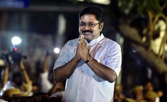 A file photo of AIADMK (Amma) faction leader T.T.V. Dhinakaran. Photo: PTI