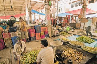 Wholesale food prices in January rose 1.65% year-on-year, compared with a 2.91% rise a month earlier. Photo: Mint