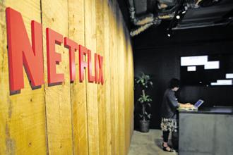 Netflix has now lured two of the most successful producers in TV—Ryan Murphy and Shonda Rhimes—from two of the industry's most valuable companies. Photo: Bloomberg