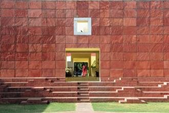 Jawahar Kala Kendra, designed by the late Charles Correa, Jaipur. Photo: Himanshu Vyas/Hindustan Times