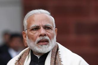 PM Narendra Modi was addressing over 200 delegates at the World Sustainable Development Summit in New Delhi on Friday. File photo: Reuters