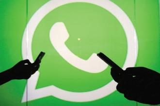 WhatsApp is currently testing the beta version of its payment service feature on the messaging app in India. Photo: Bloomberg