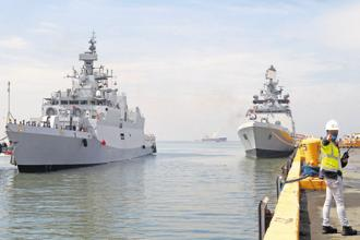 The latest Sambandh Initiative, and Mobile Training Team programme are targeted at the smaller Indian Ocean neighbours as part of the overall response to China's increasing presence in the region. Photo: AP