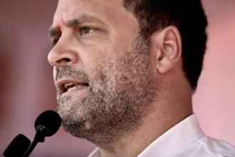 A file photo of Congress president Rahul Gandhi. Photo: PTI