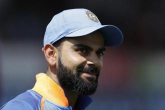 Virat Kohli once again made it clear that public perceptions are least of his concerns as long as his team knows his worth. Photo: AP