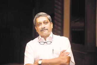 Goa chief minister Manohar Parrikar. Photo: Abhijit Bhatlekar/Mint