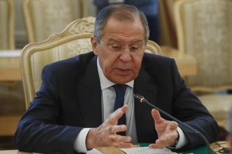 Russian foreign minister Sergei Lavrov has warned US against exploiting Kurds' aspirations of an independent state. Photo: Reuters