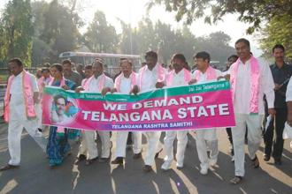 TJAC leader M. Kodandaram said many people had joined the TRS during the Telangana statehood agitation. Photo: Mint