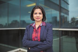 Jyoti Deshpande, Group CEO and MD of Eros International, will be stepping down from her executive role and move on to head the media and entertainment business at Reliance Industries as president of the chairman's office. Photo: Nayan Shah/ Mint