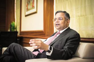 N. Chandrasekaran, 54, completed a year in his role as chairman of Tata Sons Ltd on 21 February 2018. Photo: Aniruddha Chowdhury/Mint