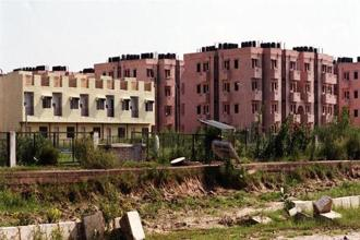 In urban areas, the assistance has been sanctioned for construction of over 39 lakh houses so far. Photo: HT