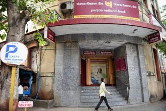 Since the announcement of the fraudulent exposure, PNB's share price has fallen by about 30%. Photo: PTI