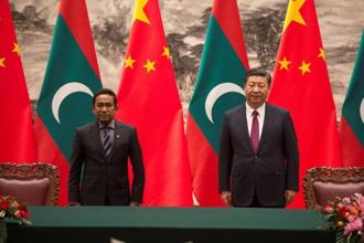 Several reports have emerged suggesting China may be directly backing Abdulla Yameen's decision to impose—and extend—the emergency in the small island state. Photo: Reuters