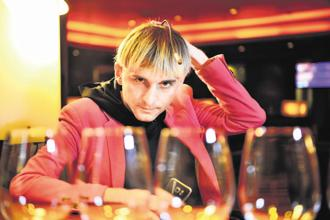 The UK government has given Neil Harbisson a bionic status, making him the world's first cyborg. Photo: Priyanka Parashar/Mint