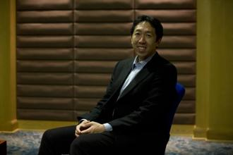 Andrew Ng, co-chairman and co-founder of Coursera, is one of the foremost experts on Artificial Intelligence and has served as chief scientist at Baidu and was also the founding lead of the Google Brain team. Photo: Kumar/Mint
