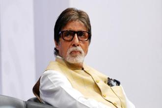 Amitabh Bachchan, who was once close to the Nehru-Gandhi family and was a friend of Rajiv Gandhi, is currently the brand ambassador of Gujarat. Photo: AFP