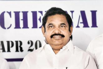 Tamil Nadu chief minister Edappadi K. Palaniswami. Apart from urging the centre to constitute the management board, the meeting also decided to consult legal experts to file a review petition. Photo: PTI