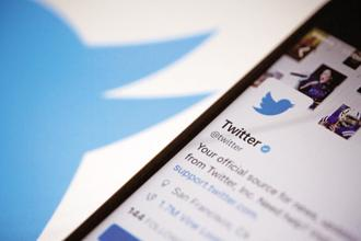 Twitter is accused of censoring a self-proclaimed 'white advocate'. Photo: Bloomberg