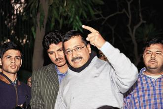 Delhi chief secretary Anshu Prakash was allegedly assaulted at a midnight meeting held at Arvind Kejriwal's official residence on Monday. Photo: Priyanka Parashar/Mint