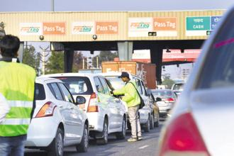 The toll-operate-transfer model will help NHAI raise upfront capital to fund projects based on engineering, procurement, construction and hybrid-annuity models. Photo: Ramesh Pathania /Mint