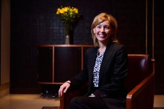 Leanne Caret, chief executive of Boeing Defence Space and Security. Photo: Pradeep Gaur/Mint
