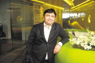 Marico MD and CEO Saugata Gupta. In 2016-17, the company had clocked sales of Rs5,935.92 crore. Photo: Abhijit Bhatlekar/Mint