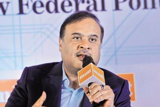 'We will be winning 44-45 seats in Tripura. We will form the government,' Himanta Biswa Sarma told reporters in Tripura. File photo: Waseem Andrabi/Hindustan Times