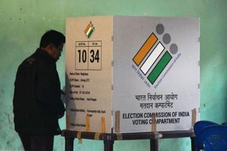 Elections to 60-member Meghalaya assembly were held on 27 February. Photo: AFP